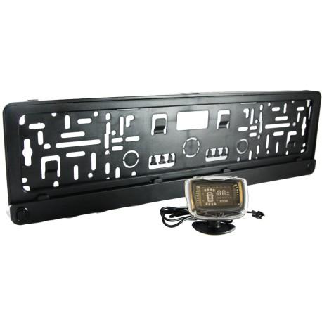 Парктроник-рамка номерного знака AUTOLUXE 64697